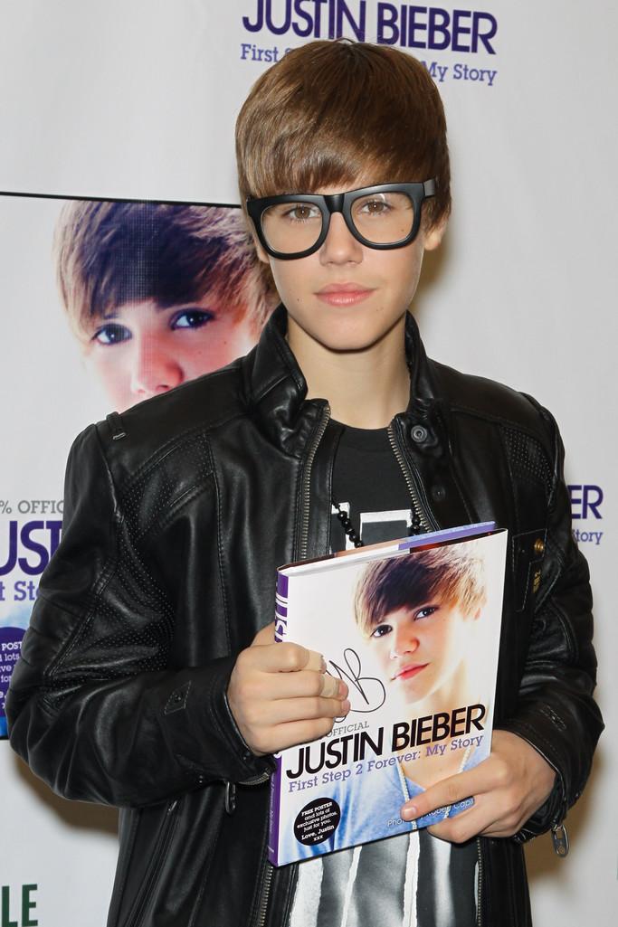 Justin Bieber Book Signing