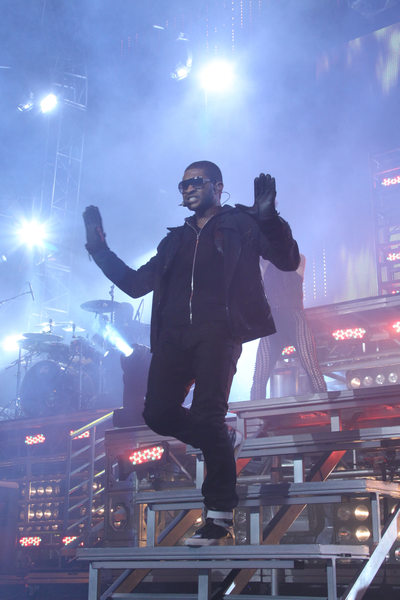 Usher performs at Wango Tango