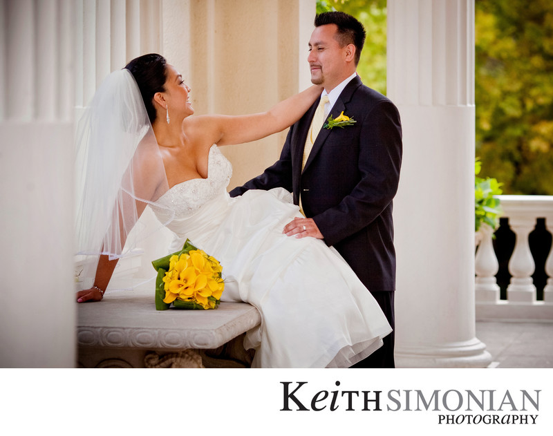 Villa Montalvo Wedding Photographer