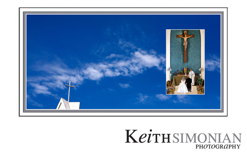 Our Lady Queen of Angels Wedding Photographer