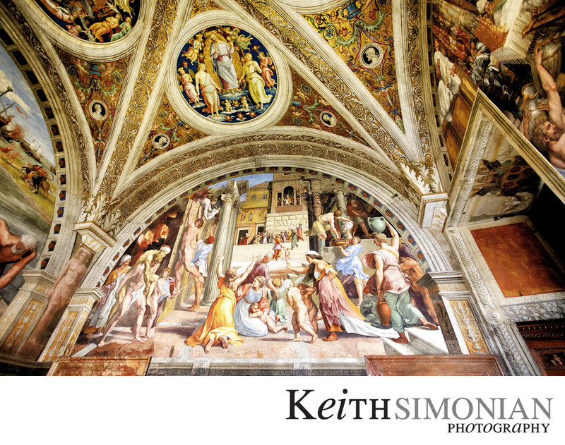 The Fire in the Borgo - Raphael Rooms - Vatican Museum