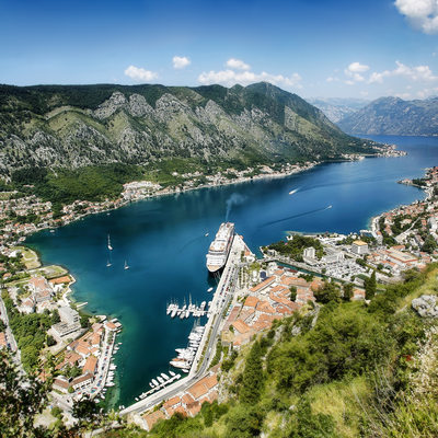 Bay of Kotor - San Giovanni Castle - Montenegro