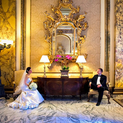 Fairmont Hotel San Francisco Wedding Photographer