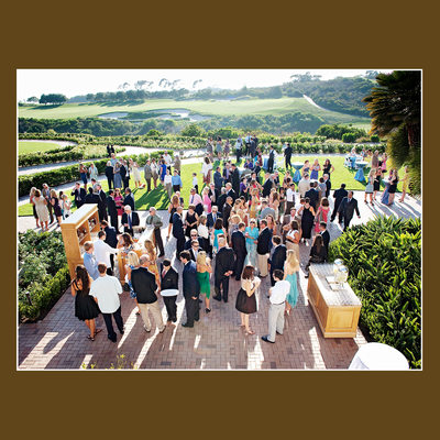 Event Lawn Wedding reception Pelican Hill Resort