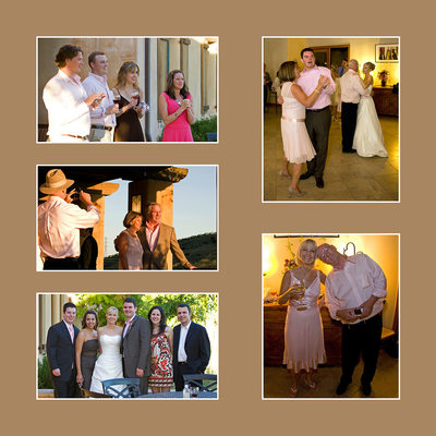 Formal photos of Wedding party after ceremony