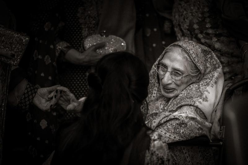 Old Pakistani Woman