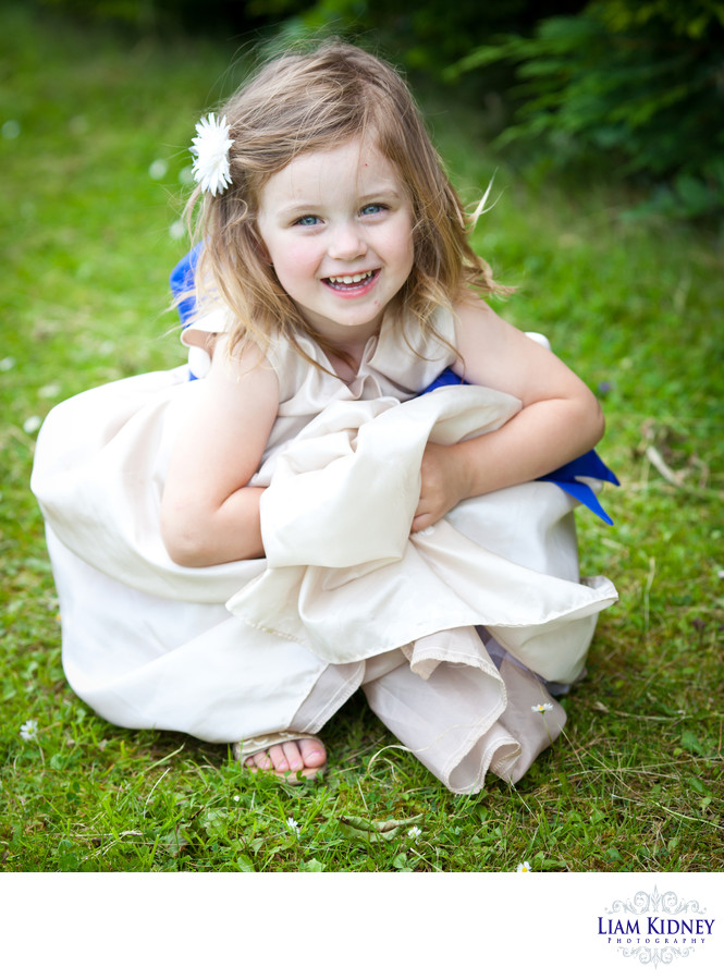 Beautiful Flower Girl at Cork Wedding