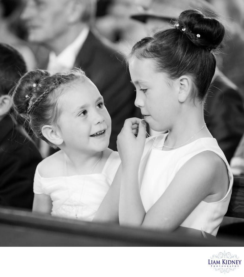 Flower Girls At Westmeath Wedding