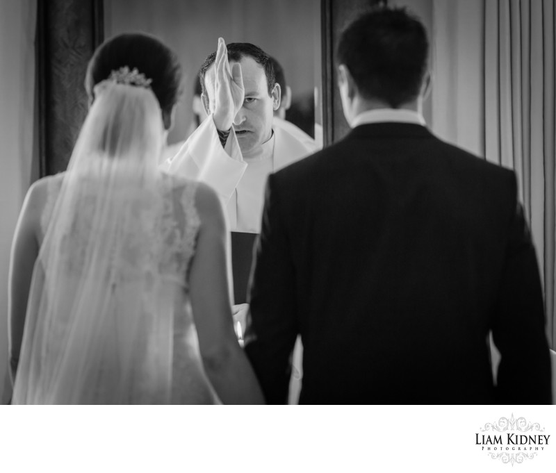 Wedding Ceremony In Annebrook House Mullingar