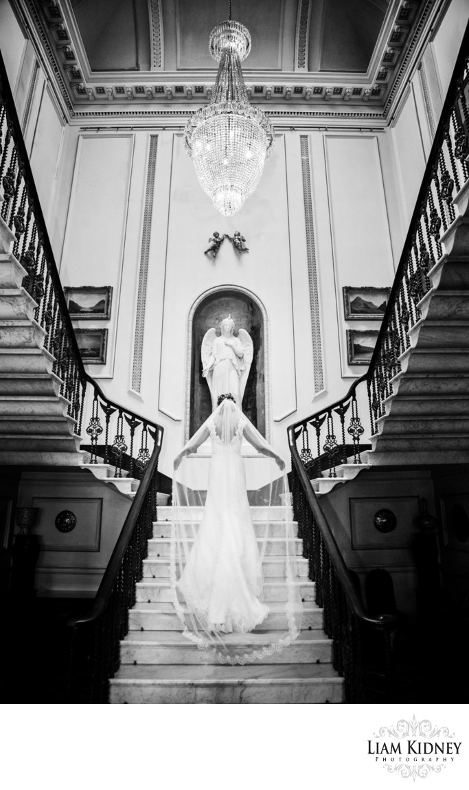 Westport House Wedding Bridal Portrait