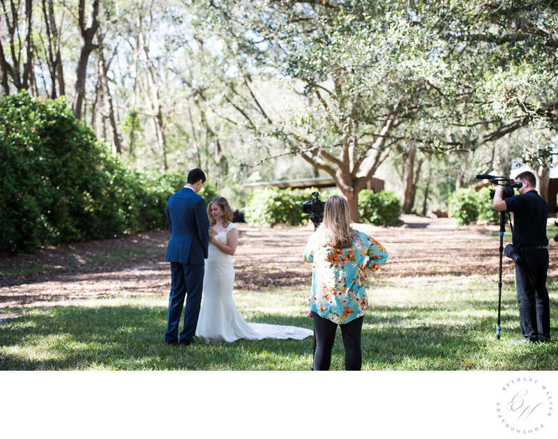 Take One Production Bowing Oaks Wedding Videographer