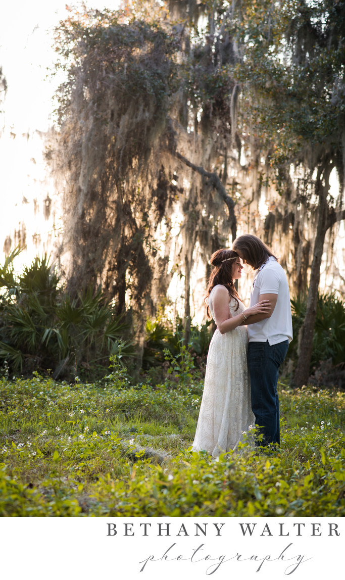 Local St Augustine Wedding Photographer Engagement