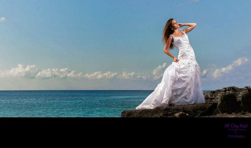 cozumel wedding dress