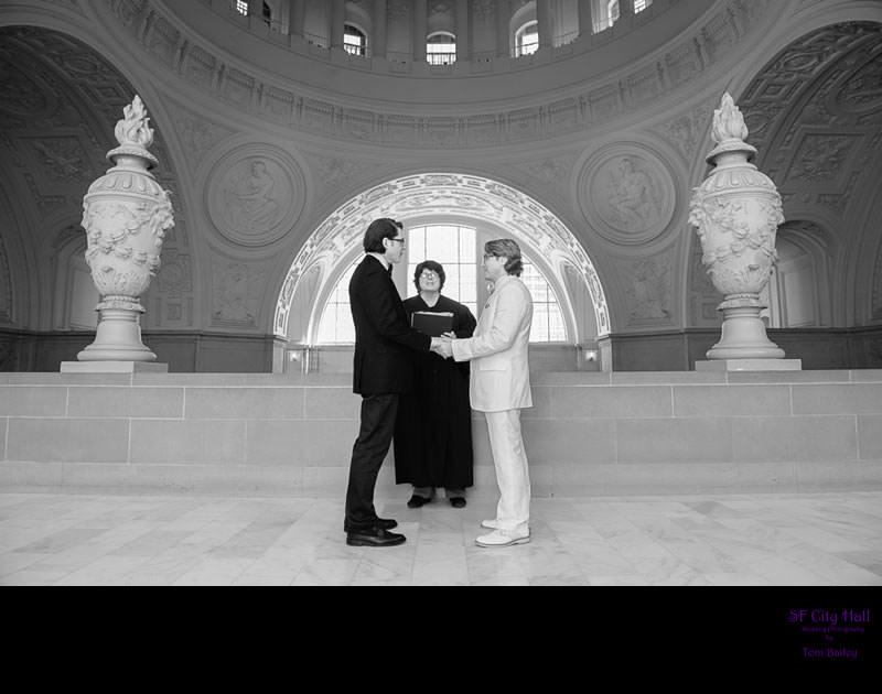 same sex civil north gallery ceremony