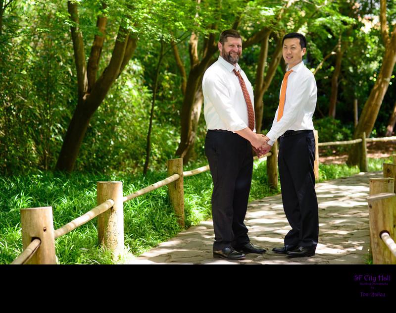 japanese tea gardens same sex marriage