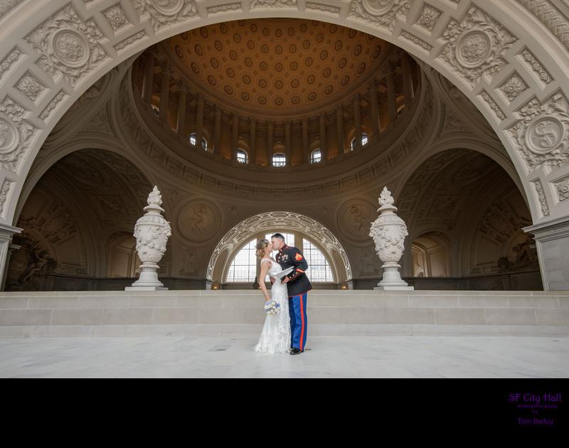 amazing military wedding couple