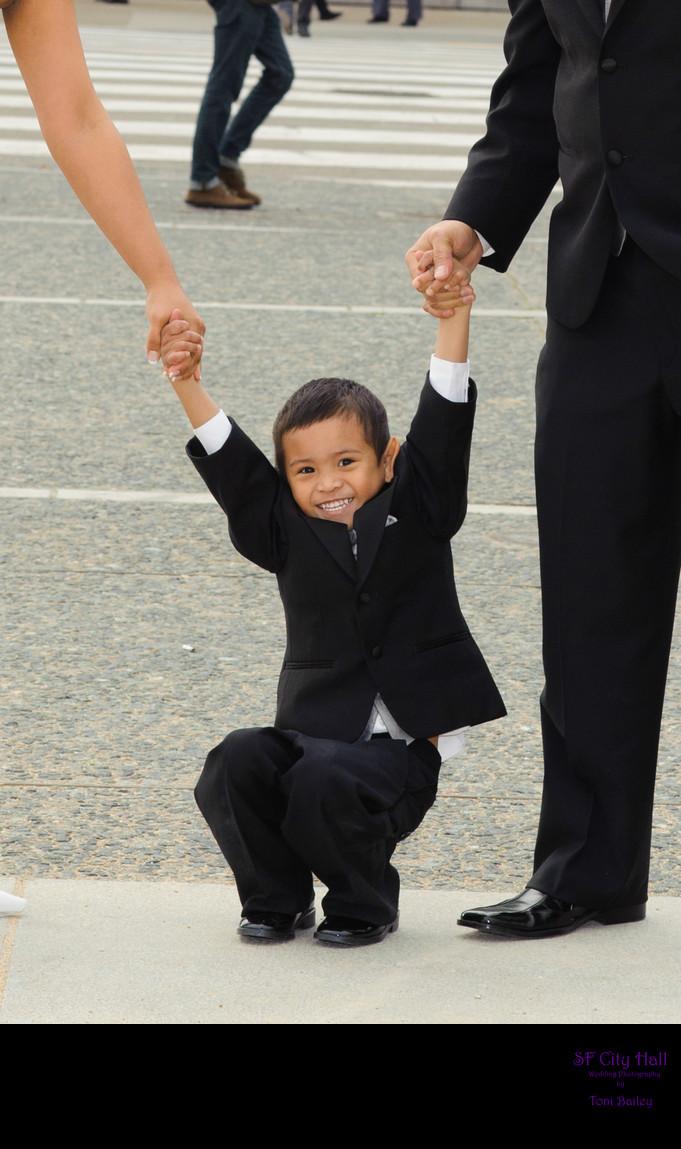 wedding kid