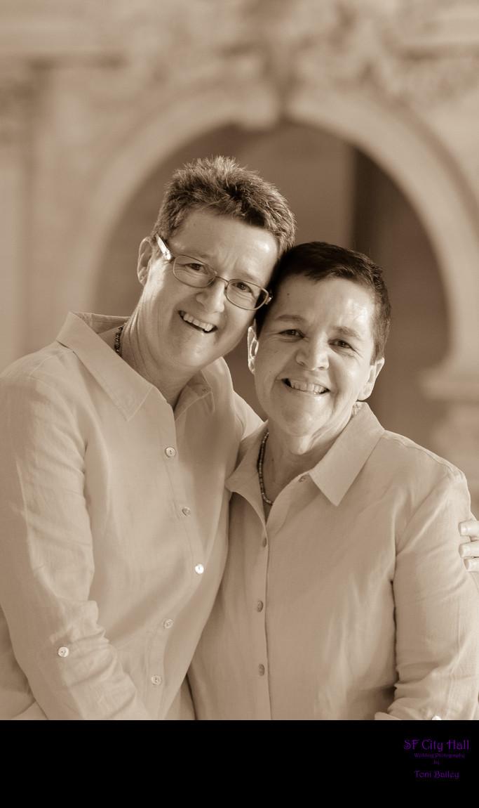 same sex wedding in san francisco