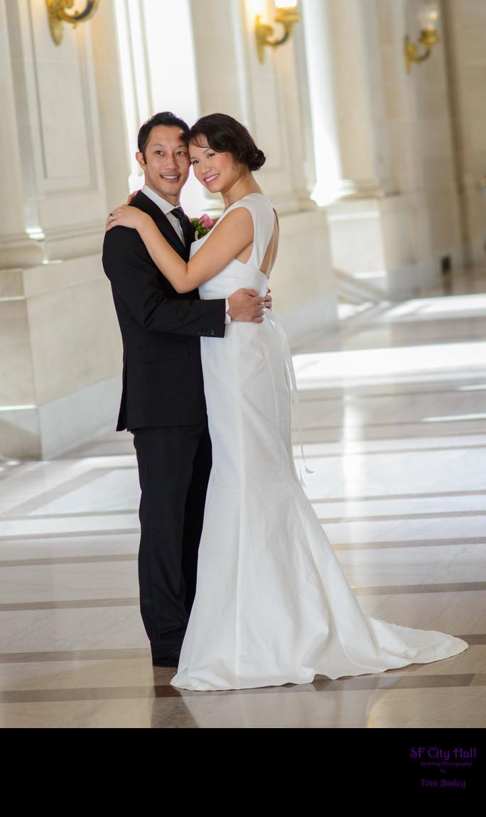 Second Floor City Hall Wedding