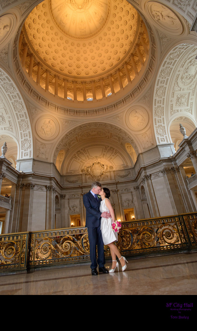 City Hall Dome Mayors Balcony Wedding