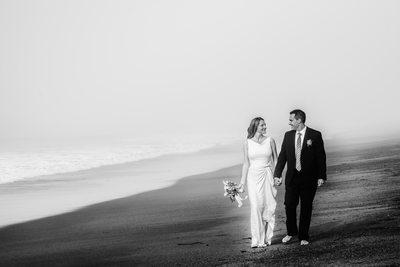 baker beach wedding