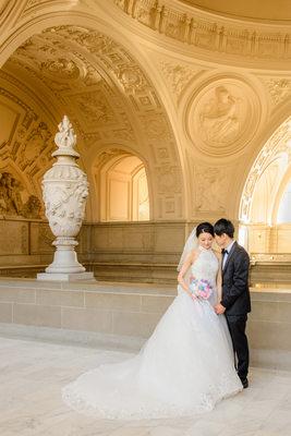 San Francisco City Hall Wedding Photography By Toni