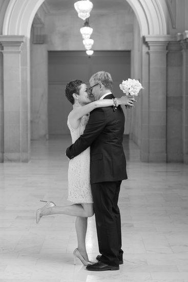 brides at city hall