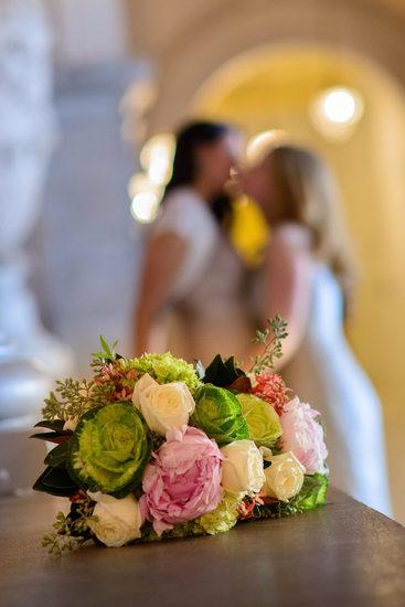 flowers same sex wedding