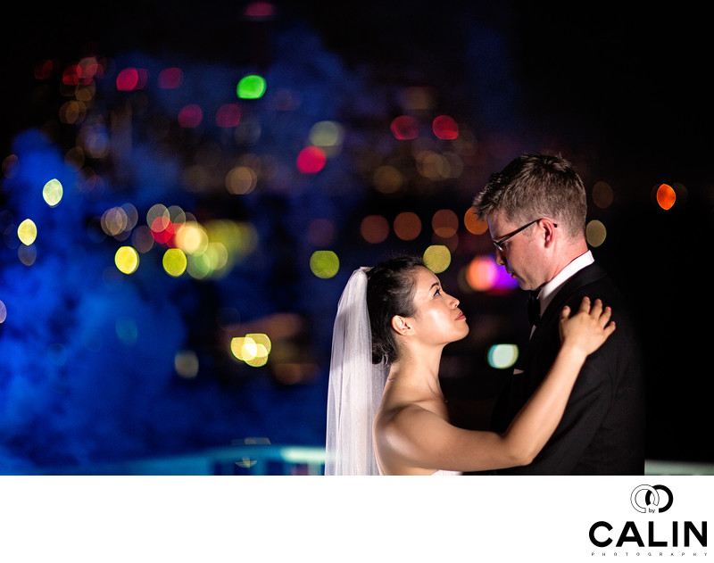 Night Wedding Photography at Atlantis Toronto