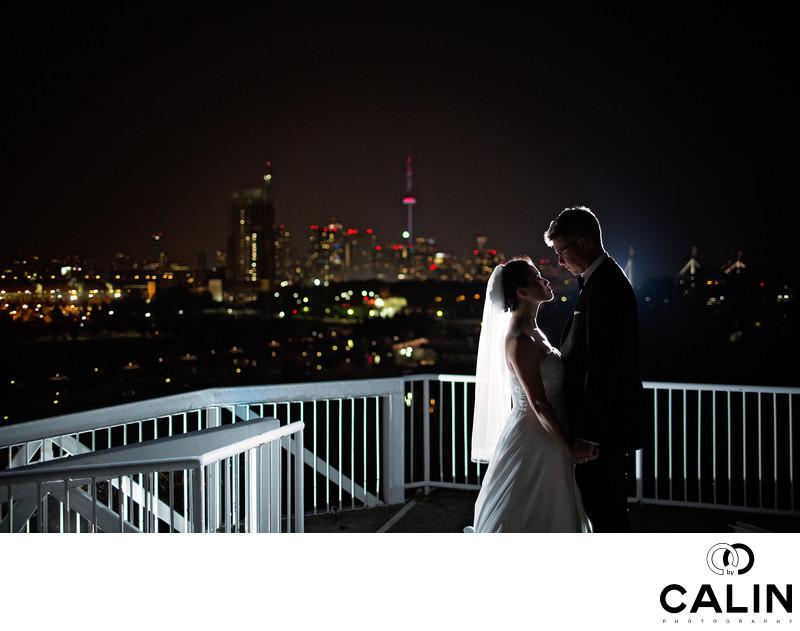 Atlantis Toronto Wedding Portrait of Bride and Groom