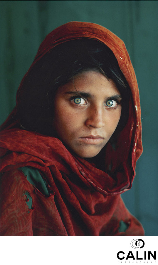 Afgan Girl by Steve McCurry