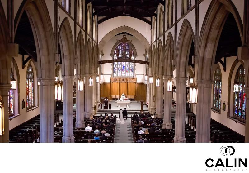 Holy Rosary Church Wedding Photography