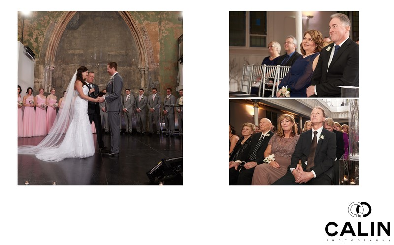 Ceremony at Berkeley Church Wedding