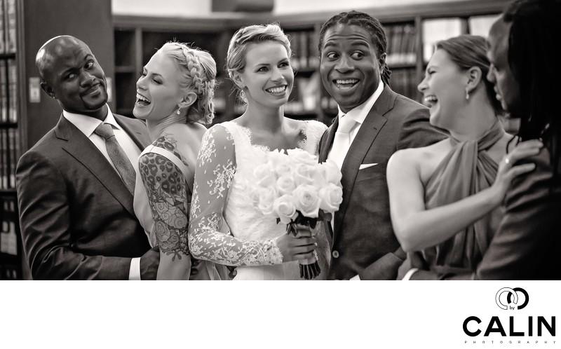 Bridal Party at Idlewyld Wedding