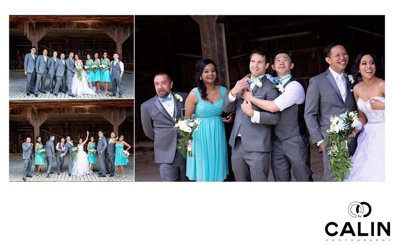 Fun Photos at Country Heritage Park Wedding