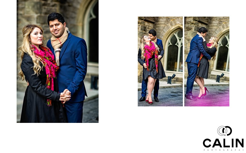 Engagement Photos by the Church of the Redeemer