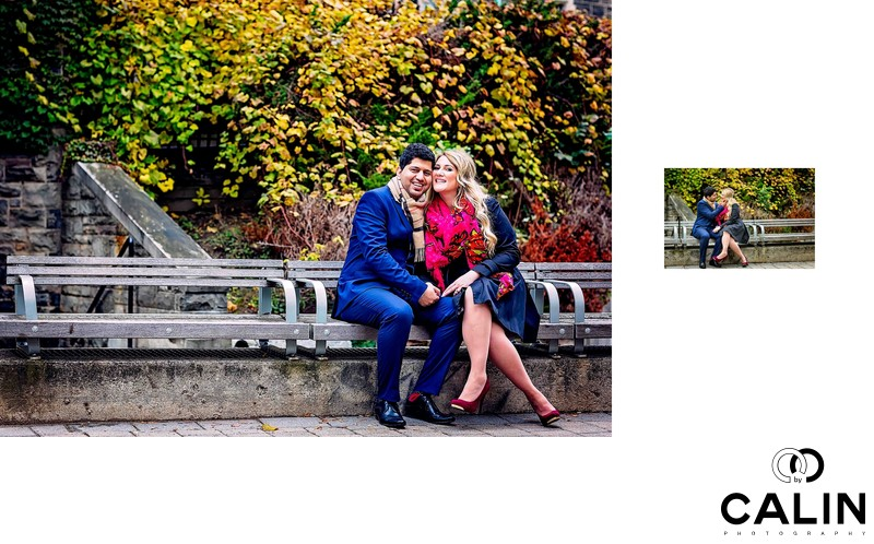 Engagement Photo at University of Toronto