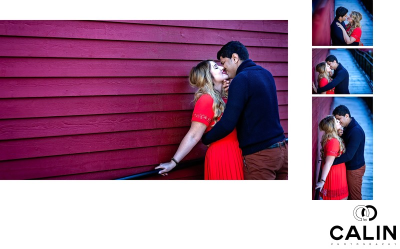 Engagement Photos Collage