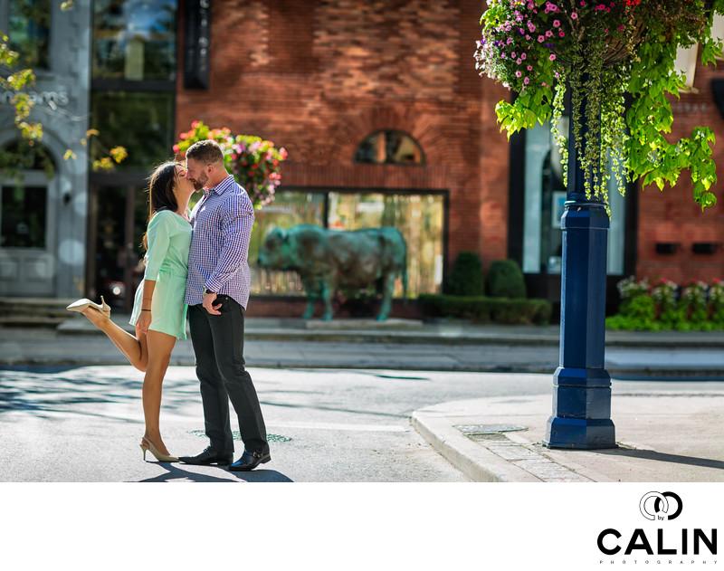Amazing Yorkville Engagement Photo