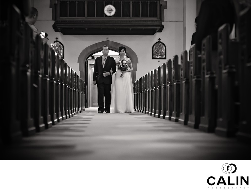 Best Holy Rosary Church Wedding Photographer