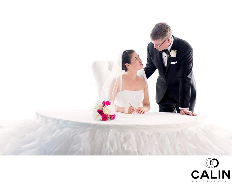 Wedding Ceremony at Atlantis Toronto