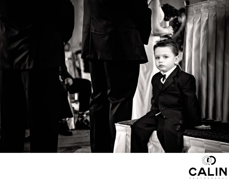 Ring Bearer at King Edward Hotel Wedding