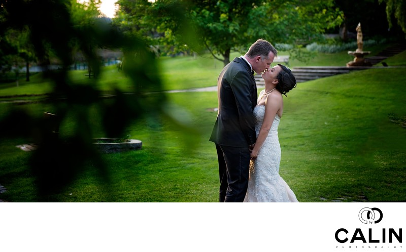 Romance at Toronto Botanical Garden Wedding