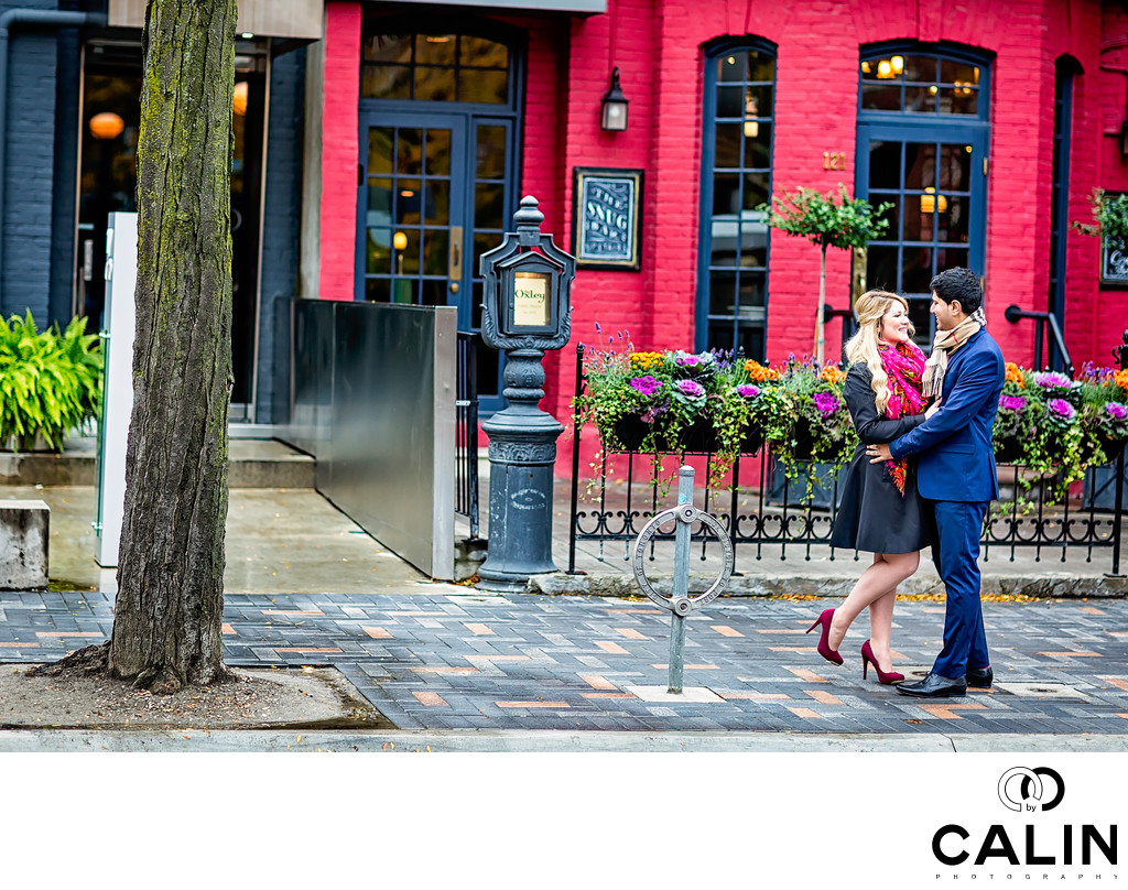 Yorkville Engagement Boy and Girl