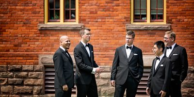 Atlantis Pavilions Wedding Groomsmen
