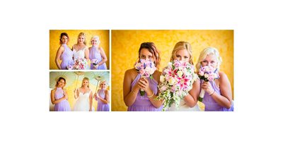 Bridesmaids at Barcelo Maya Palace Deluxe Wedding