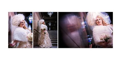 Bridal Portraits By The Vault