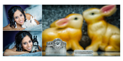 Two Bridal Portraits at Country Heritage Park Wedding