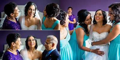 Emotional Bride at Country Heritage Park Wedding