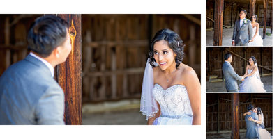 First Look at Country Heritage Park Wedding